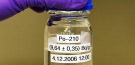 Радиоактивный металл полоний-210 и его качества как яда
