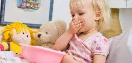 Как остановить рвоту у ребенка: первая помощь при отравлении
